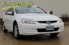 Check out this 2005 Honda Accord EX-L in White from First Auto Credit in , MO 63755. It has an automatic transmission. Engine is 2.4L DOHC 16-valve I4. Call Customer Service at 573-204-7777 today!