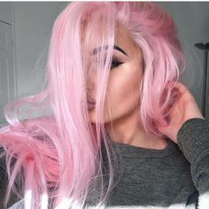 37 Yummy & Uber Trending Cotton Candy Hair Color Ideas - Highpe