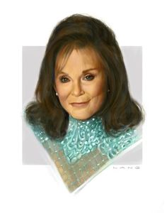 You Draw Funny: Coal Miners daughter (Loretta Lynn)