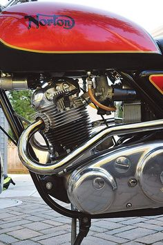 "Mix and Match: Norton Commando ""Interback"" Custom - Classic British Motorcycles - Motorcycle Classics"