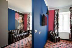 Hôtel Jules César, Arles (Maranatha Hotels) - Suite | Design by Christian Lacroix. Photo ©Philippe Praliaud
