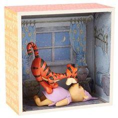 Pooh Meets Tigger Shadow Box,