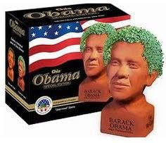CHIA OBAMA. Please. That's all I want for Christmas.
