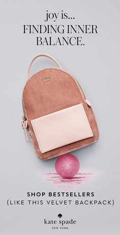 joy is. when holiday shopping is a breeze. our latest holiday gift guide is here and it makes finding what you're looking for soooo easy. Kate Spade Designer, 2017 Inspiration, Pastel Fashion, Email Design, Backpack Straps, Branded Bags, Christmas 2017, Winter 2017, Fashion Handbags