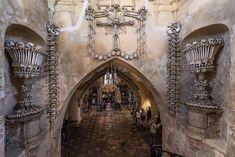 Czechia's 'Bone Church' Is Getting a Good, Thorough Cleaning - Atlas Obscura How Do You Clean, How To Look Better, Ancient Aliens, Ancient History, Sedlec Ossuary, Dance Of Death, Most Haunted, Haunted Places
