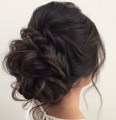Featured Hairstyle: heidi marie garrett (Hair and Makeup Girl); www.hairandmakeupgirl.com; Wedding hairstyle idea.