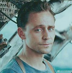 Tom Hiddleston playing James Conrad in the film named Kong:Skull Island~~