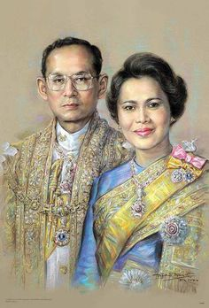Long Live Their Majesties the King and Queen of Thailand. King Phumipol, King Rama 9, King Of Kings, King Queen, King Thailand, Queen Sirikit, Bhumibol Adulyadej, Her Majesty The Queen, Great King