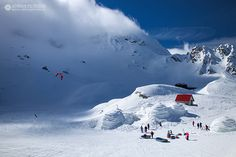 Balea Ice Hotel and winter sports in Romania. Winter Goddess, Ice Hotel, Tourist Places, Winter Is Coming, Winter Sports, Romania, Winter Wonderland, Mount Everest, Places To Visit