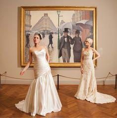 ChicagoStyle Weddings Art Institute Photo shoot!