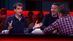 Discussie rond gebruik beelden in de media. Frederik Deswaef vs. Jeroen Meus en Adriaan Van den Hoof. Vanaf 4:30