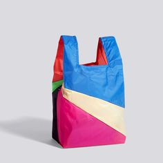 Six-colour Bag M No. 6 - HAY Medium Bags, Paper Shopping Bag, Bean Bag Chair, Reusable Tote Bags, Colour, Specs, Palette, Products, Design