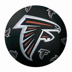 NFL Atlanta Falcons 16-Inch Playground Ball by Good Stuff. $15.17. Your favorite NFL team logo on a great quality playground ball!. Large size - 16 inches in diameter. Easy to inflate with a basketball pump and pin - comes uninflated, so you don't pay shipping on air!. Great for Four Square, Kickball and other playground games. Black ball with Falcons logo. NFL Atlanta Falcons 16-Inch Playground Ball. Save 24% Off!