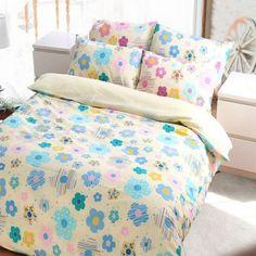 床包組-雙人【圓點花園】含兩件枕套, 高透氣棉,Artis台灣製內容件數:薄床包x1+美式枕套x2 材質:20%棉 80%極細纖維  產地:台灣 尺寸:雙人