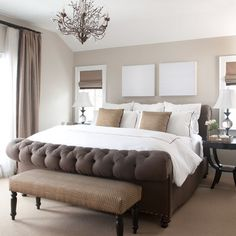 Benjamin Moore Revere Pewter Paint Bedroom Design Ideas, Pictures, Remodel and Decor