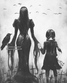 36 Ideas Tattoo Ideas Family Morticia Addams For 2019 Morticia Addams, Gomez And Morticia, Adams Family Morticia, Dark Fantasy, Fantasy Art, Die Addams Family, Addams Family Tattoo, The Addams Family Halloween, Addams Family Quotes