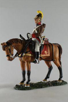 Унтер-офицер конной артиллерии, Австрия 1800 г. NCO, Austrian Horse Artillery, Del Prado Cavalry №110