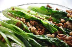 Zielony Kącik Badawczy i przepis na kapustę pak choi - ogrody Ewy Green Beans, Tacos, Mexican, Vegetables, Ethnic Recipes, Garden, Food, Garten, Meal
