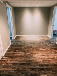 BASEMENT OFFICE RENOVATION: PART TWO! | Blonde & Ambitious Blog Origami White, Electric Box, Mindful Gray, Window Well, Basement Office, Baseboards, Basement Remodeling, White Trim, New Room