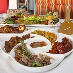 The Ethiopian food at Lucy comes out hot, fresh and in heaping portions.