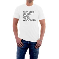 New York #London #Paris CARDIFF? Hey ! Why Not ? Have your home #town printed on the list of the world's greats. Why should Milan and Tokyo get all the credit when East Chea... #city #personalised #geography #fashion #humor #funny #london #paris #nyc #village #country