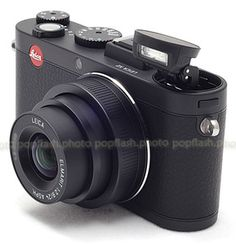 LEICA X2 BLACK DIGITAL COMPACT CAMERA #18450 USED