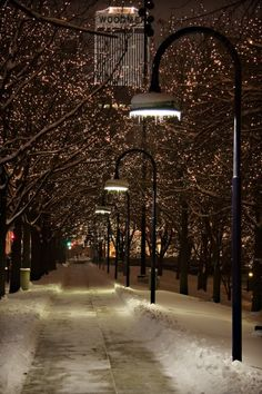 Downtown Omaha, Nebraska so beautiful in the wintertime.
