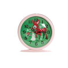 Kitsch Kitchen | Leo & Bella | Kitsch Kitchen Retro Alarm Clock Happy Valley Bambi Pink