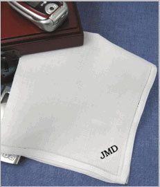 Mens Linen Handkerchief, Pure Linen, Custom, Monogram Handkerchief,  Personalized Gift for Men