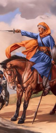 Warrior princess- Mai Bhago Kaur