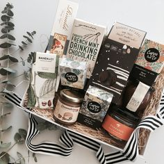 Indulge in all that's sweet and glorious with our Super Sweet gift. Candy Packaging, Chocolate Packaging, Food Hampers, Gift Hampers, Gourmet Foods, Gourmet Recipes, Orange Blossom Honey, Hamper Ideas, Yarra Valley