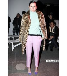 WHO: Jenna Lyons, Creative Director of J.Crew