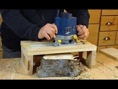 Router Planer - Nick Offerman's Flattening Jig - YouTube