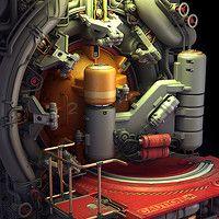 ArtStation - Experiments in Sci-Fi Door Design No. 3, Paul Pepera