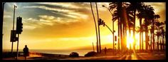 Sunset, Facebook cover photo