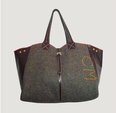 Military Wool Bag, Italian For Italy