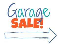 Check out my Garage Sale Sign & Find! Garage Sale Signs, Binder Organization, Organizing Tips, Ultimate Garage, Daily Planner Pages, For Sale Sign, Printed Materials, Helpful Hints, Something To Do