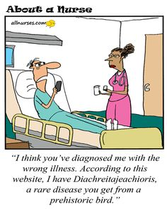 Cartoon: Empower the people with medical knowledge! - About A Nurse - Nursing Cartoon Series