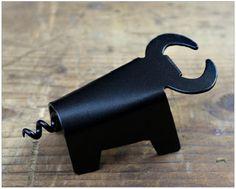 Bull Bottle Opener