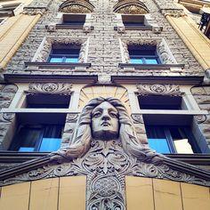 #riga #lettland #latvia #jugendstil #artdeco #architektur #architecture