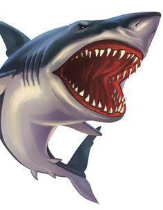 18-shark-clipart-tropical-fish.png (300×387)