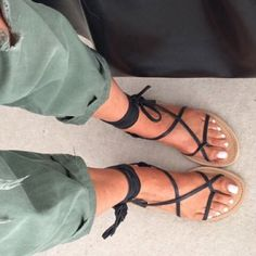 ISO Looking for lace up sandals In a size 7-7.5 Nasty Gal Shoes Sandals