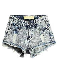 Description Material DenimStyle FashionColor BluePattern High  WaistSeason Summer Package included 7fded5816b3
