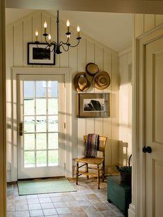 farmhouse entry