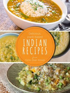 Delicious, plant-based Indian recipes