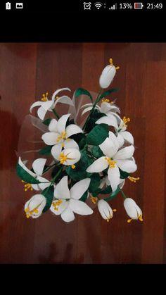 Koza çiçek Diy Projects To Try, Flower Making, Paper Flowers, Embroidery, Plants, Towels, Ornaments, Art, Amigurumi