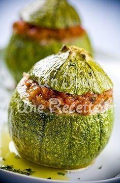 Photo de la recette Courgettes farcies à la viande