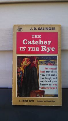Beautiful Vintage Edition of The Catcher in by CollectorsAgency