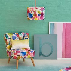 Portree Fabric - Printed - Fabrics - Living | bluebellgray