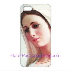 Religious Virgin Mary logo iPhone 5 cover Soft/Flexible TPU case designed by padcaseskingdom padcaseskingdom,http://www.amazon.com/dp/B00DKU698E/ref=cm_sw_r_pi_dp_ppQNsb1WQJ12YCN5